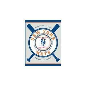 MLB Baseball Double Header Beach Towel New York Mets   Team Sports Fan