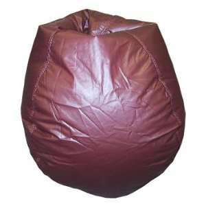 Bean Bag Boys Muted Burgundy Bean Bag Chair