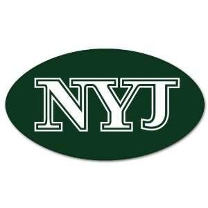 New York Jets NFL Football car bumper sticker 5 x 3 Automotive