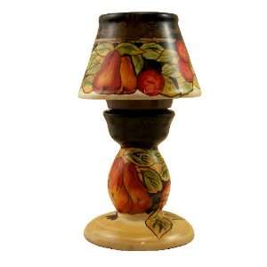 TEA LIGHT CANDLE HOLDER TUSCANY GRAPE FRUIT DECOR: Home & Kitchen