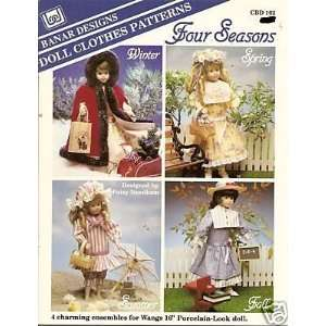 Clohes Paerns   16 Porcelain Dolls (CBD) Pasy Needham Books