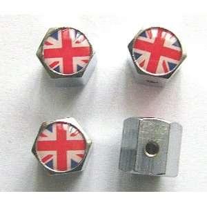 Kingdom England British Flag Anti theft Car Wheel Tire Valve Stem Caps