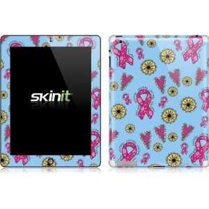Skinit Breast Cancer Ribbons Blue Vinyl Skin for Apple New