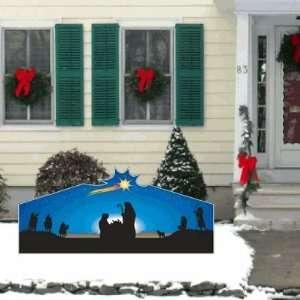 Christmas Nativity Large Star Lawn Display Decoration