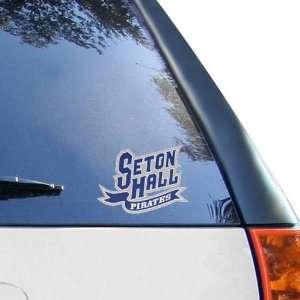 NCAA Seton Hall Pirates Team Logo Window Decal Automotive