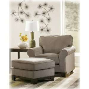 Riley Contemporary Slate Living Room Chair Furniture & Decor
