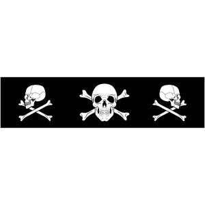 Zan Headgear Cooldanna   One size fits most/Skull & Crossed Bones