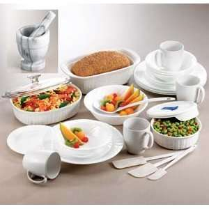 28pc. Corelle® White Dinnerware Set (28ACFW CSB) Category