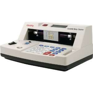Counterfeit Money Detector with Calculator Typewriters Electronics