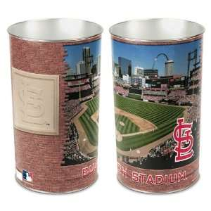St Louis Cardinals Waste Paper Trash Can