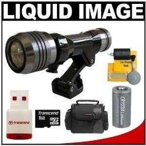 Liquid Image Underwater Digital Camera Mask Hi Power Video Light Torch