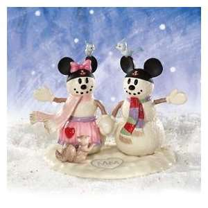 Lenox Disney Mickeys Snowflake Sweetheart Figurine