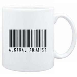 Mug White  Australian Mist BARCODE  Cats  Sports