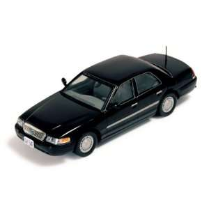Ford Crown Victoria 2000 Black 1/43 Scale diecast Model