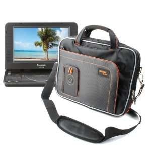 Portable DVD Player Case With Extra Front Storage For Panasonic DVD