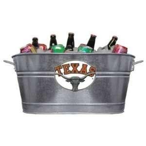 Texas University Longhorns Beverage Tub/Planter   NCAA