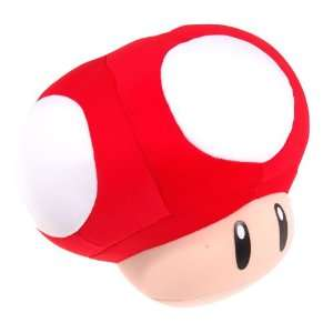 Nintendo Super Mario Red Mushroom Padded Toy Toys & Games