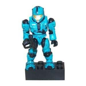 Mega Bloks   Halo Micro Action Figure   Series 3   CYAN