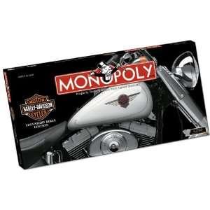 MONOPOLY Harley Davidson Legendary Bikes Edition Sports