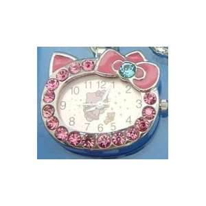Pink Crystal Hello Kitty Watch Necklace Toys & Games