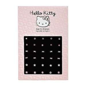 Hello Kitty Nail Art Stickers Rhinestone Flowers