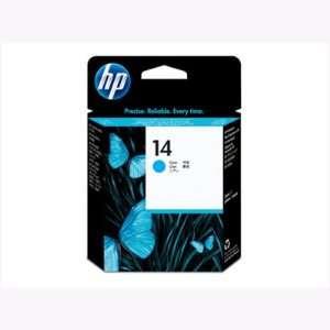 Hewlett Packard Hp 14 Cyan Printhead Yield 30,000 Based On