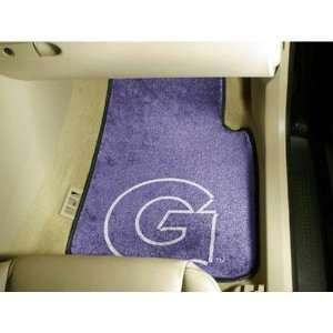 Georgetown Hoyas NCAA Car Floor Mats (2 Front) Sports