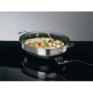 Deni Stainless Steel Electric Skillet:  Kitchen & Dining