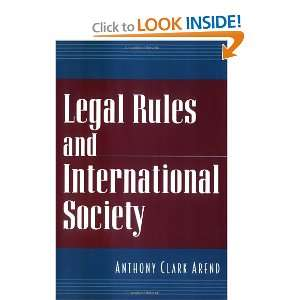 Legal Rules and International Society (9780195127119