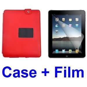 NEEWER® Red PU Leather Case Cover w/Stand for iPad 2 Wifi 3G