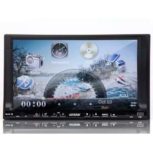 Car G2226U 7 Two UI/LED Button 2 Din GPS Nav player Bluetooth/Ipod