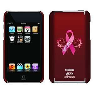 Pink Ribbon Support on iPod Touch 2G 3G CoZip Case