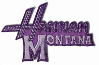 Hannah Montana logo Iron On Patch:  Clothing