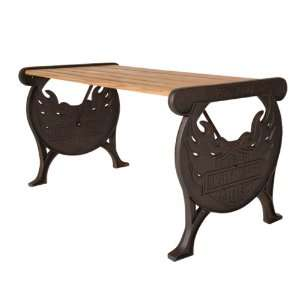 Bar & Shield Flames Outdoor Table (Large)