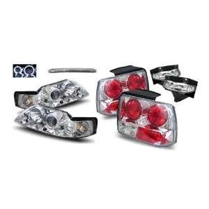 + Fog Lights + LED 3rd Brake Lights + Tail Lights Combo Automotive