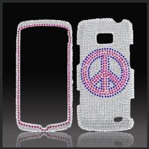 crystal bling rhinestone diamond case cover for LG Ally VS740