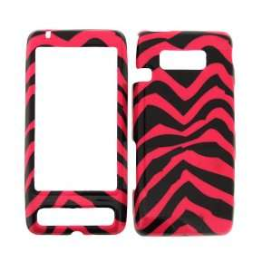 VERIZON LG FATHOM PINK ZEBRA HARD PROTECTOR SNAP ON COVER CASE Cell