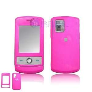 LG CU720 Shine Cell Phone Hot Pink Solid Protective Case