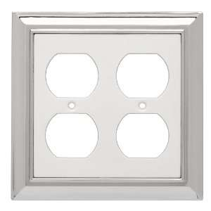 Liberty Hardware 126374 Architectural Double Duplex Wall Plate
