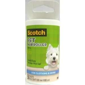 Scotch Pet Lint Rollers Refill 56 Sheets (3 Pack) Health