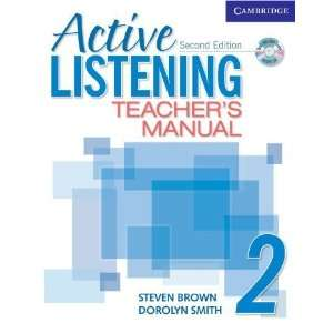 Active Listening 2 Teachers Manual with Audio CD (Active Listening