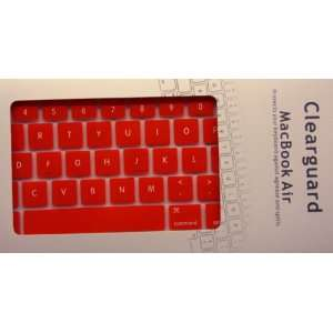 Koolshop RED Keyboard Silicone Cover Skin for MacBook Air