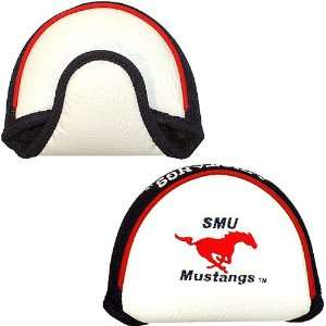 Southern Methodist Mustang Mallet Putter Cover From Team Golf