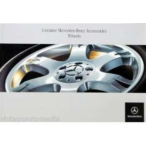 2006 Mercedes Benz Wheels Accesories brochure Everything