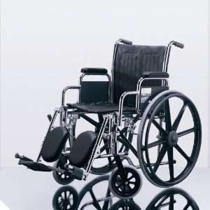 Excel 2000 Wheelchairs Permanent Full Length Arms, Swing
