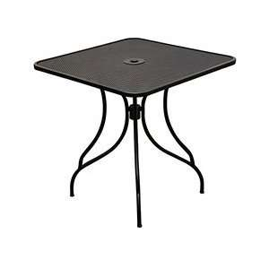 Central Exclusive KIT Metal Indoor/Outdoor Table   Square