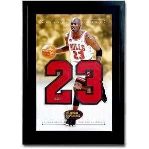 Michael Jordan Chicago Bulls Autographed Jersey Numbers