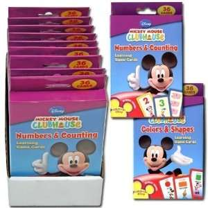 Disney Mickey Mouse Clubhouse Flash Card Case Pack 27