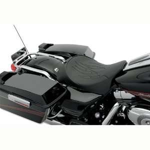 Flame Stitch Solo Front Seat for Harley Davidson for Touring Models