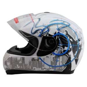 Full Face Motorcycle Street Helmet (XL23.75 24.25 inches) Automotive